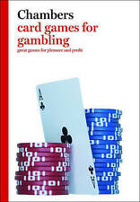 Card Games for Gambling (Chambers Games), NEW By Peter Arnold, FREEPOST