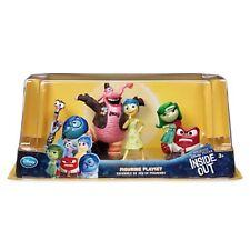 New Disney Store Inside Out 6 Figure Set Playset Bing Bong Sadness Pixar BNIB