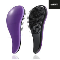 Curved Detangling Hair Brush Salon Quality Anti Tangle Haircare Curved Control