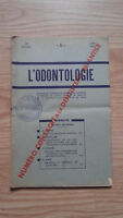 Rivista Mensile - ODONTOLOGIA - 72ème Anno - Giugno 1951, N° 6