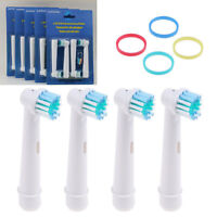 4/8Pcs Recambios para Cepillo de Dientes Eléctrico Braun Oral-B Precision Clean