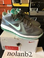 huge selection of fd8a5 1145e 2012 NIKE LEBRON IX 9 LOW EASTER COOL GREY MINT CANDY GREEN WHITE 510811-001
