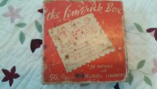 Vintage The Limerick Box Cocktail Napkins. 35 In The Box, Very Cool.