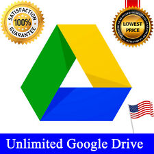 Unlimited Google Drive For Your Exiting Account (Team Drive) Lifetime Access✅
