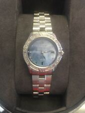 EW1710-56Y Citizen Women's Eco-Drive Elektra Watch Blue MOP Dial Diamond Bezel
