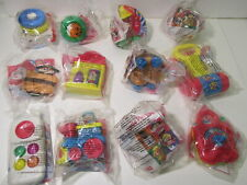 McDonald's Under 3 Set Of 12 Fisher Price Happy Meal Toy 1997  t4354