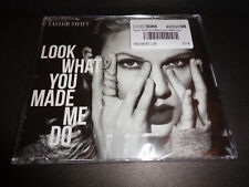 "TAYLOR SWIFT ""Look What You Made Me Do"" 2017 CD MAXI SINGLE  Brand New Sealed"