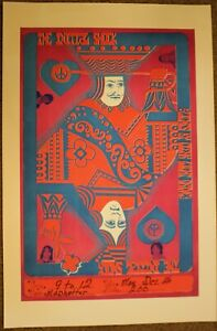 ORIGINAL 1960's THE INITIAL SHOCK ROCK POSTER at the MAD HATTER