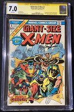 Giant-Size X-men #1 CGC 7.0 WHITE PAGES signed Roy Thomas 2nd Full Wolverine