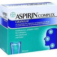 ASPIRIN COMPLEX Btl.m. Gran.z.Herst.e.Susp.z.Einn. 20St 4114918