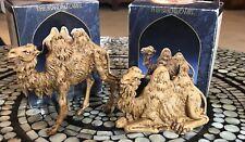 New ListingRoman Fontanini 5� Standing and Sitting Camel, Set of 2 (52544 & 52545)