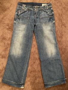 DIESEL WIGGY Womens Jeans W 29 L 30 Wash 008BC