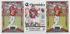 (3) CeeDee Lamb 2020 PANINI CHRONICLES DRAFT PLAYOFF + ROOKIE LOT COWBOYS