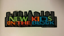 New Kids on The Block NKOTB Vintage patch superstrip large music boy band 4