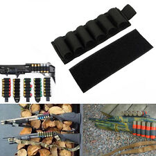 6 Round Shell Shotgun Buttstock 12 Ammo Shell Gauge Holder Holster Pouch*-UK