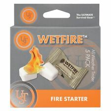 UST Wetfire Tinder 5-Pack All-Weather Fire Starter Survival 20-1WG0412-6BX5