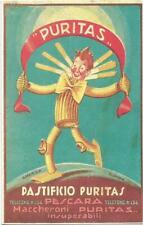 PESCARA PASTIFICIO PURITAS -  Riproduzione cartolina postale pubblicitaria