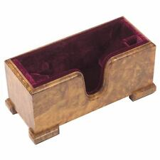 Core Master 4/4 Violin Cradle - Stand with Wine Suede Interior