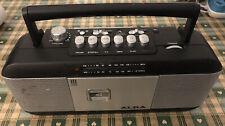 Vintage alba cbb16 radio cassette player