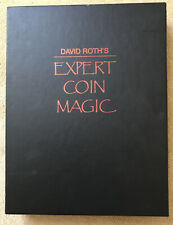 David Roth's Expert Coin Magic Book - First Edition - Slip Cover