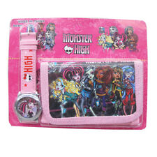 MONSTER HIGH - KID CHILDREN BOY ACCESSORIES WATCH WALLET PURSE