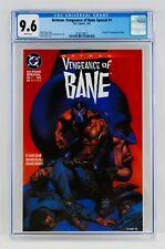 Batman: Vengeance of Bane Special #1 CGC 9.6 First Appearance Origin 1st App NM+