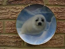 Franklin Mint Collectors Plate SNOW PUP Limited Edition WEPPLO