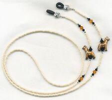 Giraffe Eyeglass~Glasses Holder Necklace Leash Chain *CUSTOM LENGTH*