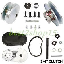 """Go Kart Torque Converter Cvt Clutch 3/4"""" Com TAV2 30-75 217242A Manco 12T 1FH"""