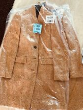 NWT J. Crew Tall oversized topcoat in English herringbone wool CAMEL T4