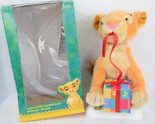 """Disney Lion King Kiara Christmas Display Figure 12"""" Plush Animated Holiday Decor"""