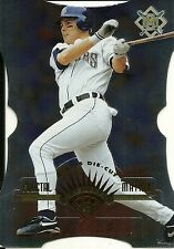 1997 Leaf Fractal Matrix Die Cut Silver Jeff Cirillo 115 Brewers
