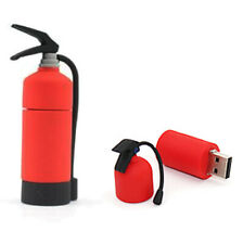 32Gb Red Fire Extinguisher USB Drive Memory Stick Flash Drive Novelty Gift