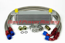 13 row 10An engine oil cooler / new-style oil cooler sandwich plate & thermostat
