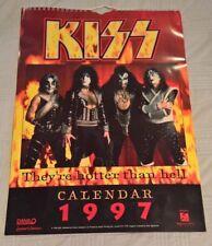 KISS 1997 The Official Danilo Calendar - Reunion Tour Pictures (large size)