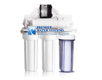 5 Stage Reverse Osmosis Water Filtration System + AQUATEC ERP1000 PERMEATE PUMP
