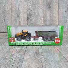 SIKU 1855 - 1:87 - JCB Traktor mit Hakenliftmulde - OVP - #T29451
