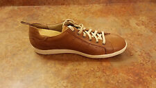 New! Mephisto 'Ulysse' Brown Leather Low Top Sneaker Shoes Mens 9.5 MSRP $365