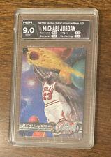1997-98 Metal Universe #23 Michael Jordan Chicago Bulls HOF HGA 9 MINT