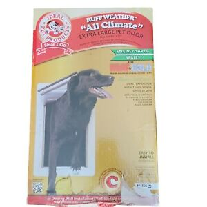 New Ruff Weather Pet Door Model RWXL  Ideal Pet Products For Extra Large Pet Dog