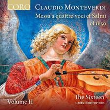THE SIXTEEN/HARRY CHRIST-MONTVERDI:MESSA A QUATTRO  CD NEW