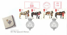 (04741) GB FDC tutte le Regine CAVALLI eiir Royal BORCHIE METRO Kings Lynn 1997