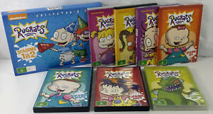 RUGRATS Collector's Set - COMPLETE Series Season 1-9 All NEW Condition DVD's
