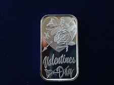 2002 SilverTowne Valentines Day 2002 ST-301V2 Silver Art Bar P2343