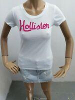 Maglia HOLLISTER Donna taglia size S maglietta t-shirt woman polo donna p 5598