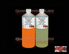 MOULDCRAFT A3000 1kg ORANGE FAST CAST Polyurethane Liquid Plastic casting Resin