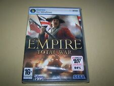Empire: Total War PC DVD-ROM **New & Sealed**