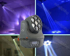 6-eye LED moving head beam stage lighting DMX dj lights color vintage show light