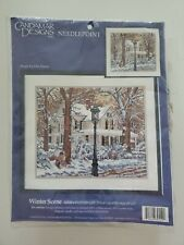 Needlepoint kit Winter Scene - New Sealed