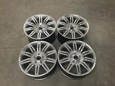 "19"" Staggered 535 Spyder Style Wheels Hyper Silver Spider BMW 5 Series E60 E61"